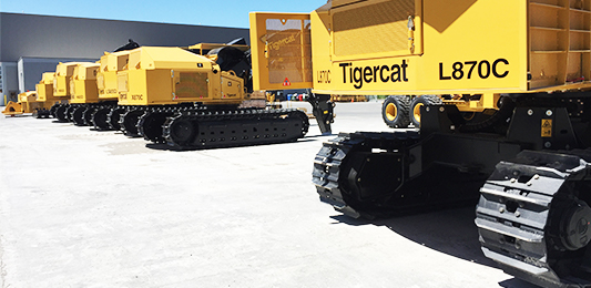 Tigercat Industries, Paris, Ontario