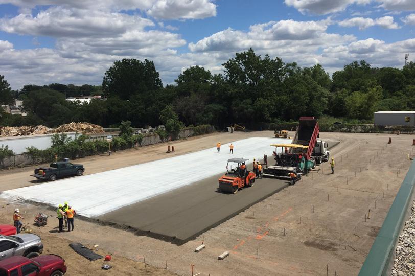 RCC Roller Compacted Concrete Services