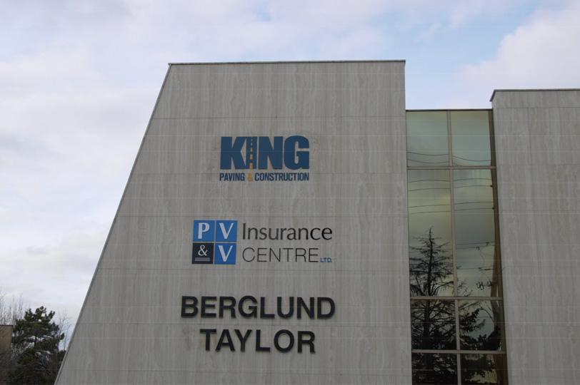 Head Office of KING Paving & Construction Ltd.